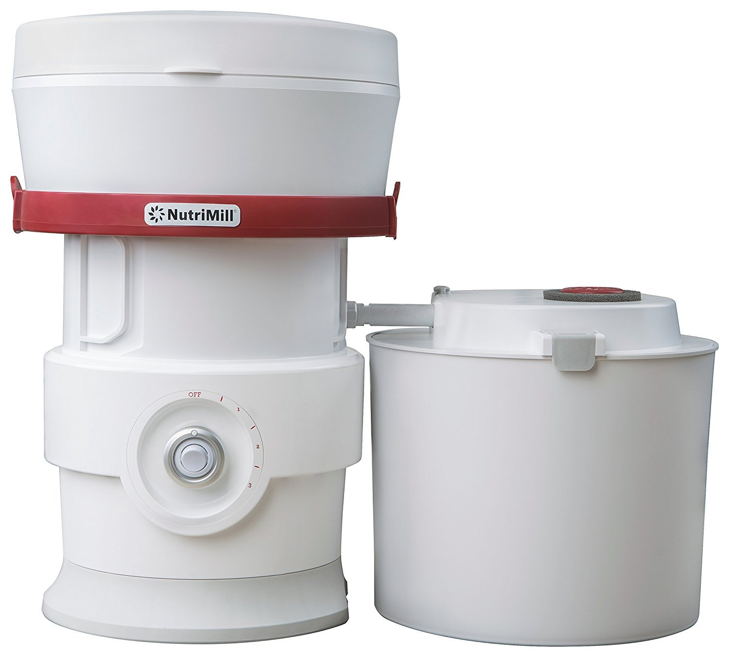 NutriMill High Speed Grain Mill with Whisper Mill Technology by NutriMill