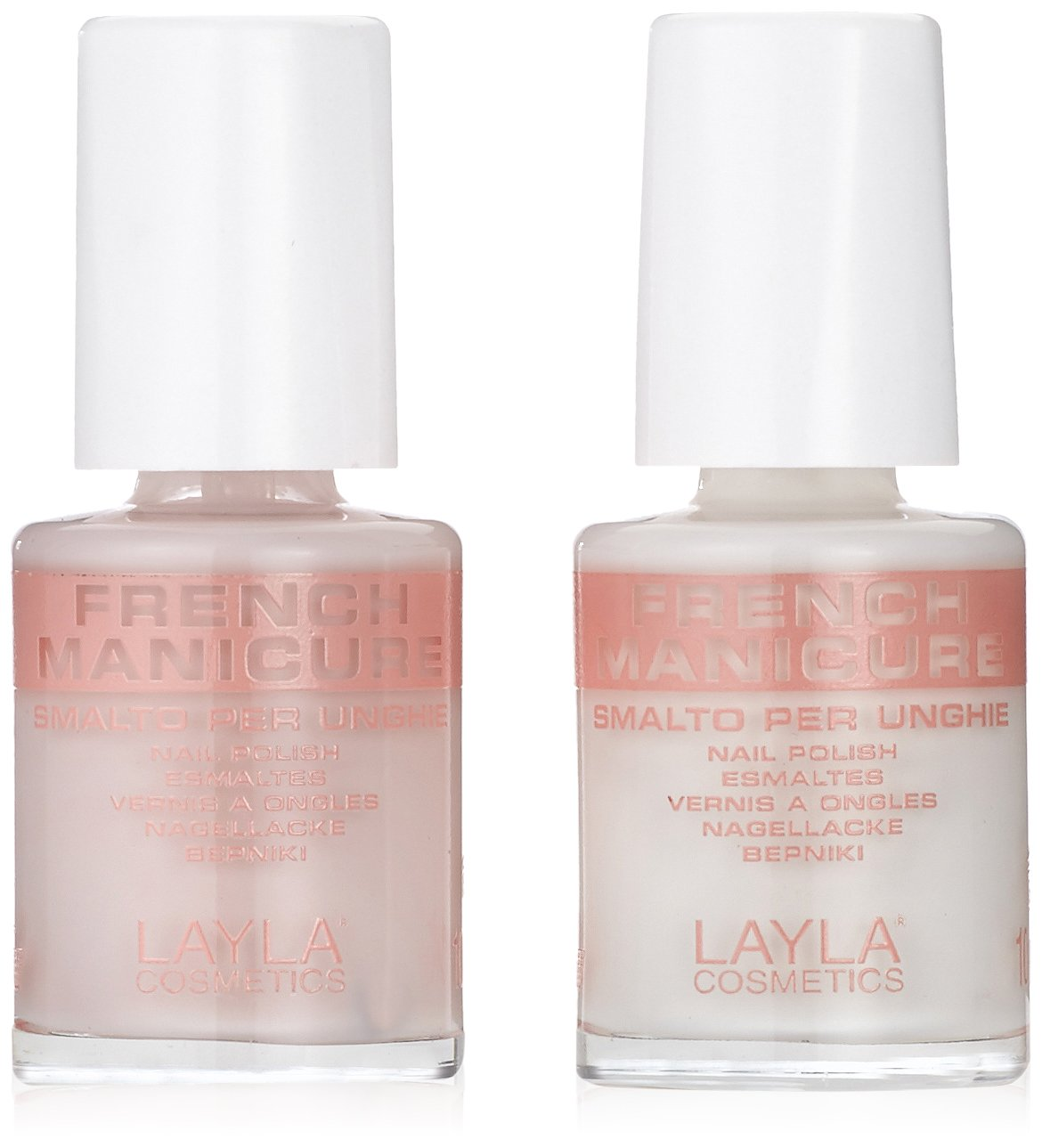 Layla Cosmetics Kit French Manicure - Naturale, primo pacchetto (1 x 0:01 l) Groupe Latitude 1858R26