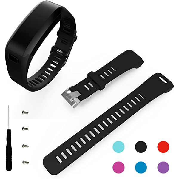 Amazon.com: Garmin VivoSmart HR band-budesi silicona pulsera ...