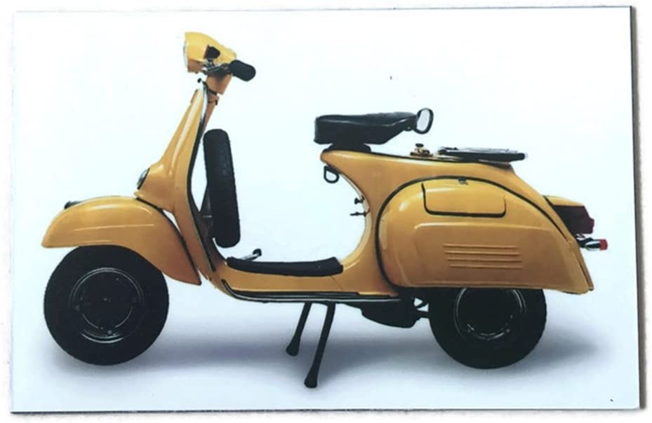 Agility Yellow Vespa Scooter Motorcrycle Art 1 Collectible Vintage Photo Fridge Magnet