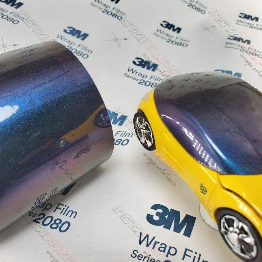 3M 1080 Gloss Flip Deep Space | GP278 | Vinyl CAR WRAP Film (5ft x 50ft (250 Sq/ft)) w/Free-Style-It Pro-Wrapping Glove