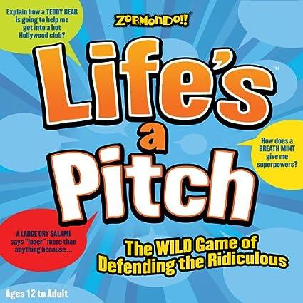 Amazon.com: Life s a Pitch Juego de mesa: Toys & Games