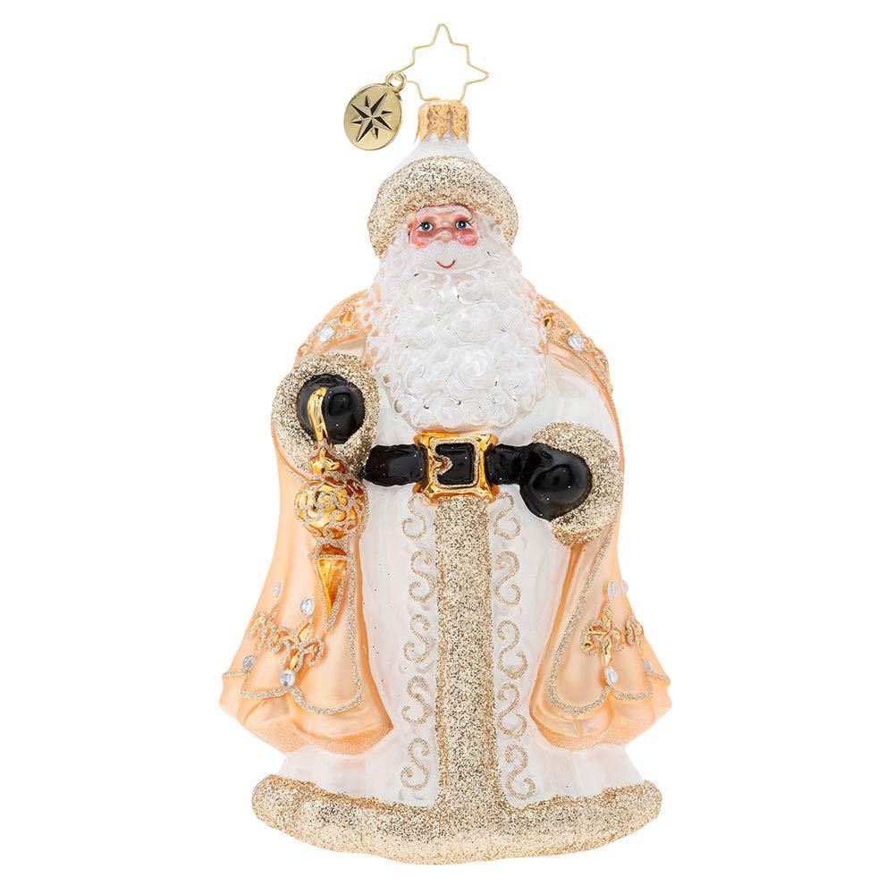 Christopher Radko Golden Commander Christmas Ornament