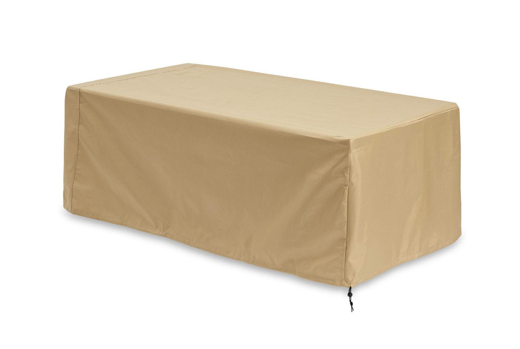 The Outdoor GreatRoom Company Tan Linear Cover for Uptown Fire Pit Table by The Outdoor GreatRoom Company