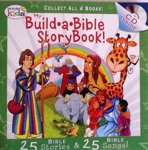 My Build A Bible Storybook! Disc 2- 25 Bible Stories, 25 Bible Songs on Included Music CD - By Wonder Kids