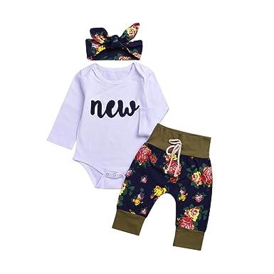 Baby Mädchen Jungen Langarm Mit Kapuze Tops Leggings Hosen Outfits Set Kleidung