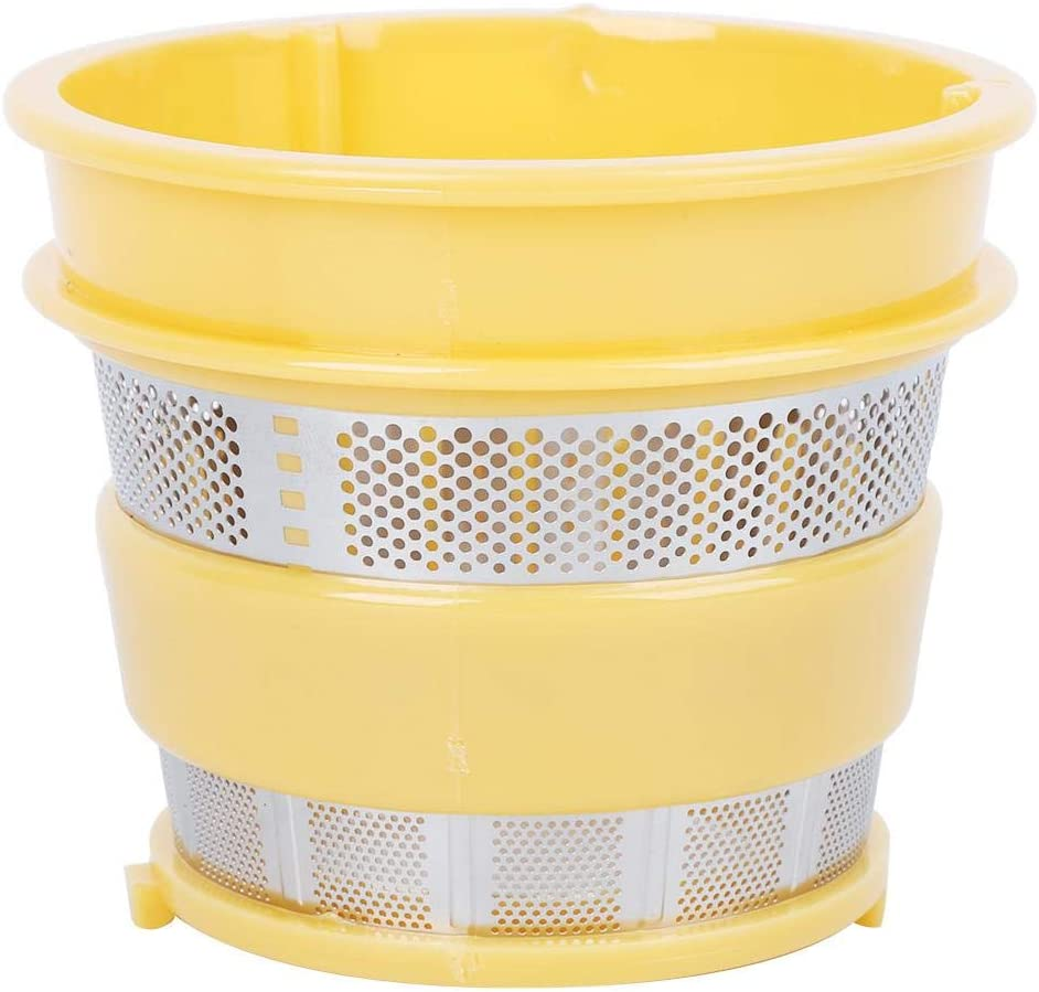 Juicer Filters, Stainless Steel Fine Mesh Juicer Filter Replacement Strainer Replacement Juicer Accessories Fit for HU500DG/HU780