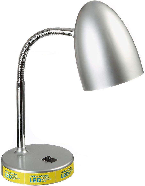 Mainstays LED Desk Lamp – Silver
