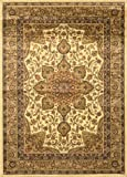 Home Dynamix Royalty 8083-100 Ivory 3-Feet 7-Inch by 5-Feet 2-Inch Traditional Area Rug