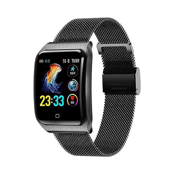 Relojes Inteligentes F9 Smart Watch Hombres Ip68 Agua Acero ...