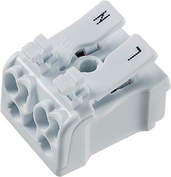 Lüsterklemmen 0,5-2,5mm² Lüsterklemme Verbindungsklemme Klemme Listerklemme BWI
