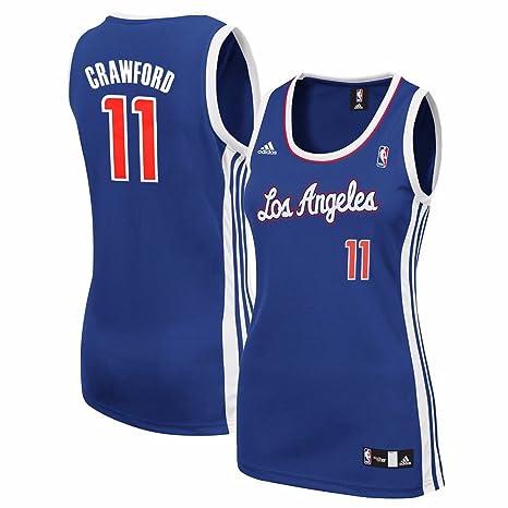 9b68e518 Amazon.com : adidas Jamal Crawford Los Angeles Clippers NBA Women's ...