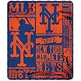 The Northwest Company MLB Strength Fleece Throw Blanket 50-inch by 60-inch