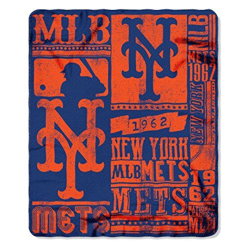 The Northwest Company MLB New York Mets Strength Printed...
