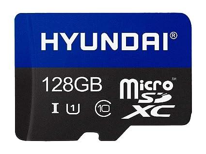 Hyundai 128 GB Clase 10 U1 Tarjeta Micro SDXC con Adaptador ...