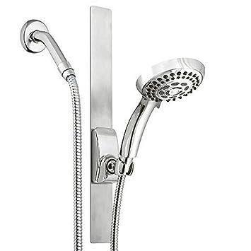 Amazon.com: Magnético Soporte de cabezal de ducha movibles ...