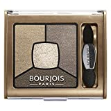 Bourjois Smoky Stories Quad Eyeshadow Palette For Women, 06 Upside Brown, 0.11 Ounce
