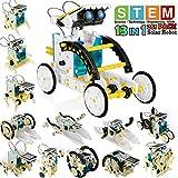 POKONBOY 13-in-1 Robot Kit Solar Robot Creation