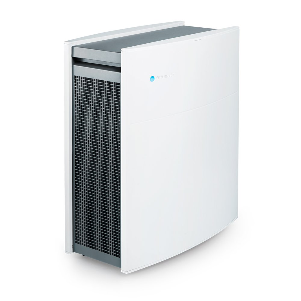 Blueair Classic 405 Air Purifier with HEPASilent Filtration for Allergen Reduction, Medium Rooms 434 sq. ft. WiFi Enabled, ALEXA compatible