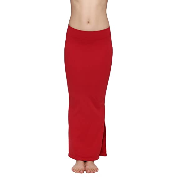 d9087c367216f Zivame Mermaid Saree Shapewear-Red  Amazon.in  Clothing   Accessories