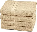 Pinzon Blended Egyptian Cotton 4 Bath Towel Set, Driftwood