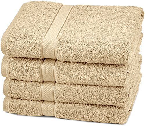 Pinzon Egyptian Cotton Bath Towel Set (4 Pack) – Driftwood
