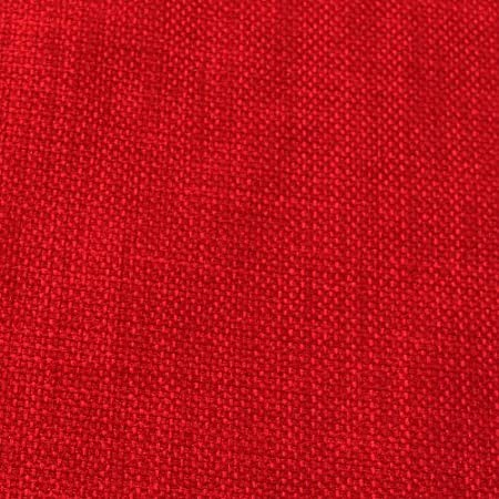 I Want Fabric Red Linen Look Designer Soft Plain Curtain Cushion