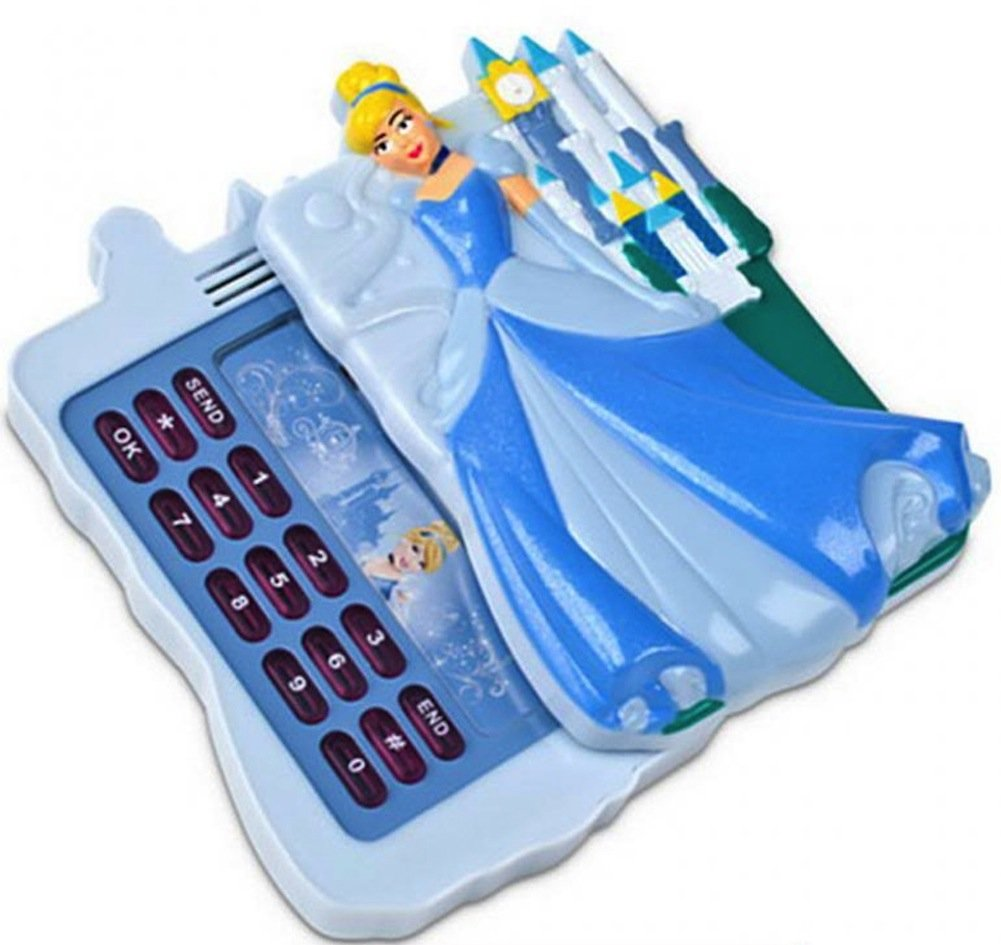 Disney Store Cinderella Light Up Toy Cell Phone With Sounds by Disney