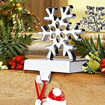 aytai 3d snowflake christmas stocking hanger christmas decorations for home holiday xmas supplies