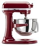 Kitchenaid Professional 600 Stand Mixer 6 quart, Empire Red (Certified Refurbished)