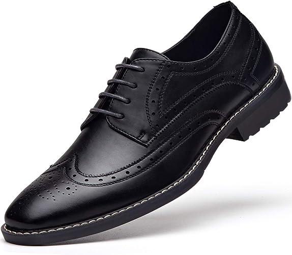 Amazon.com: Zapatos de vestir para hombre con cordones ...