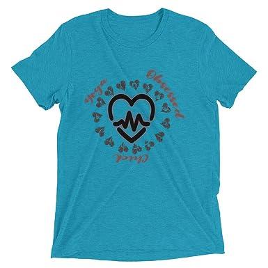Amazon.com: MiS LifeStyle Camiseta de Yoga para Mujer, Yoga ...
