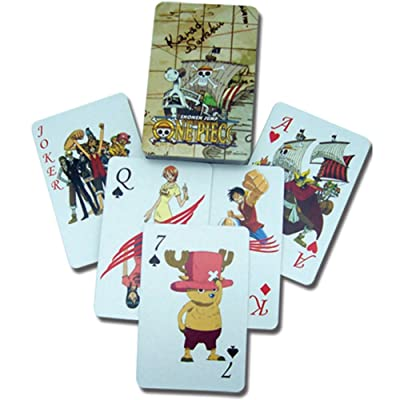 One Piece 2034 Playing Cards: Toys & Games