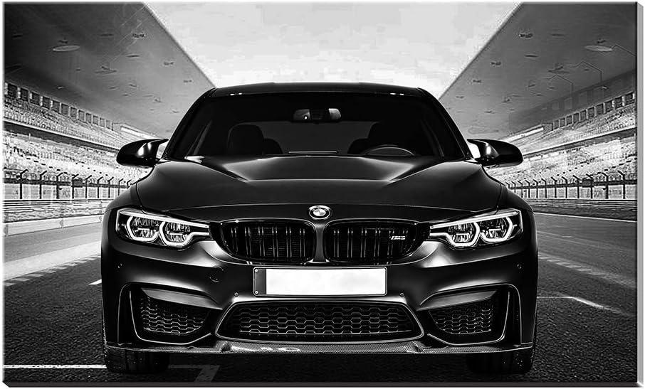 BMW M3 Reproduction de peinture Gicl/ée Impressions Racing Sports Voiture Poster Impression gicl/ée Art mural D/écor Friends New Home Cadeaux sans cadre