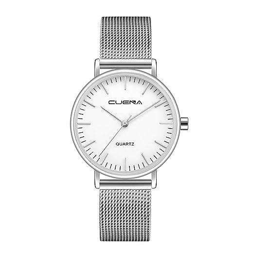 MORETIME Relojes para Mujer,2019 Malla de Acero Inoxidable ...