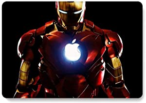 Hard Case for MacBook Pro 13 inch Model A1278 - AQYLQ Smooth Touch Matte Plastic Rubber Coated Protective Shell Cover - Iron Man