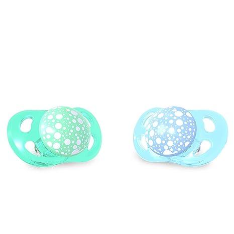 Twistshake 78285 - Chupete, color pastel azul verde: Amazon ...