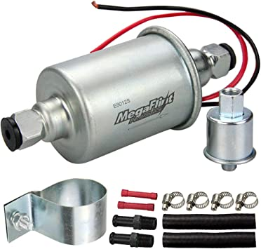 Universal Electric Fuel Pump; 2.5-5 PSI; 21-34 GPH
