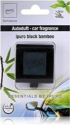2er Pack Essentials by Ipuro Car Line Autoduft black bamboo ein herb-frischer Duft gr/üne Frische vereint mit einer holzigen Nuance Kr/äftig