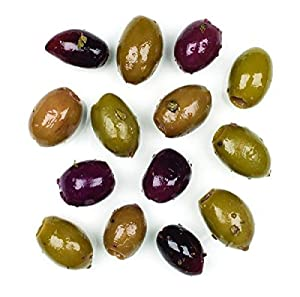 Roland Foods Roland Olives, Pitted Greek Country Mix, 70 Ounce