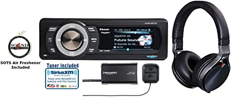 AQUATIC AV AQ-MP-5UBT-HS HARLEY DAVIDSON RADIO W// FREE SIRIUS XM RECEIVER