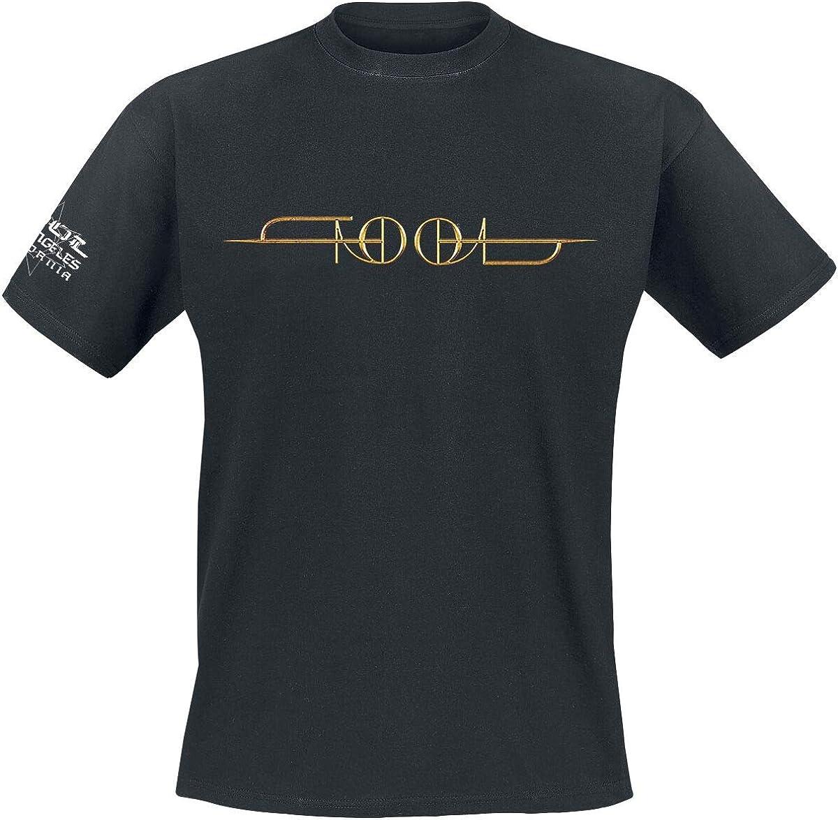 Bands Tool Gold ISO M/änner T-Shirt schwarz Band-Merch