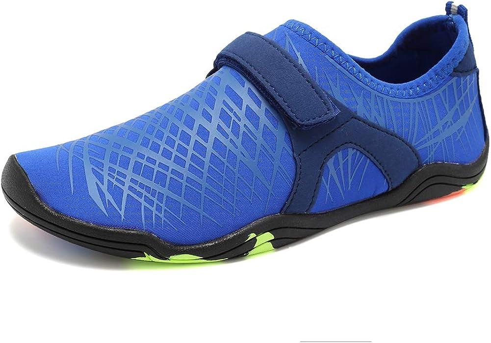 Amazon.com   FANTURE Girls & Boys Water Shoes Lightweight Comfort Sole Easy  Walking Athletic Slip on Aqua Sock(Toddler/Little Kid/Big Kid)   Athletic &  Outdoor
