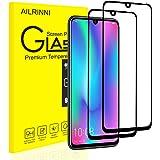 AILRINNI Pellicola Vetro Temperato Honor 10 Lite/Huawei P Smart 2019, [2 Pack] [Copertura Completa] Pellicola Protettiva Protezione Schermo in Vetro Temperato per Honor 10 Lite/P Smart 2019