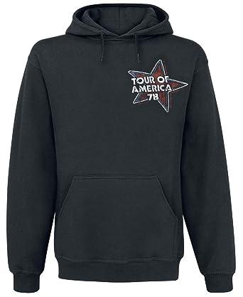À Shirt Capuche Vêtements The Tongue Usa Sweat 78 Et Accessoires Noir Stones Rolling qn8ppvY0H
