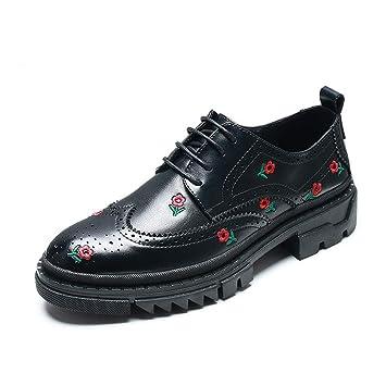 YAN Calzado Casual de Hombre Primavera/otoño Mocasines cómodos y Zapatillas sin Cordones con Cordones
