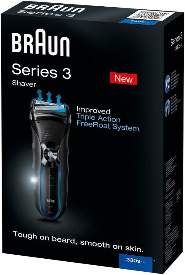 Braun - Afeitadora Series 3 330: Amazon.es: Salud y cuidado personal