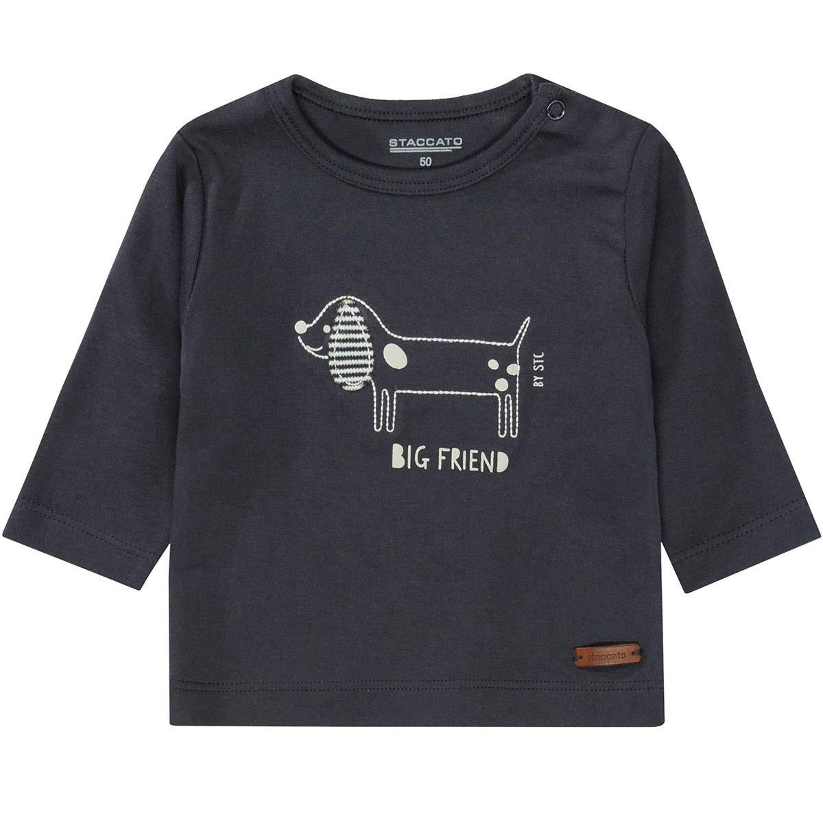 230072728 Staccato Jungen Organic Cotton Shirt Big Friend Soft Midnight