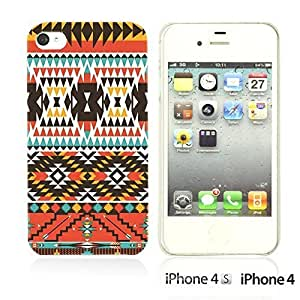 National Pattern Hardback For Iphone 5/5S Case CoverColorful Aztec Pattern