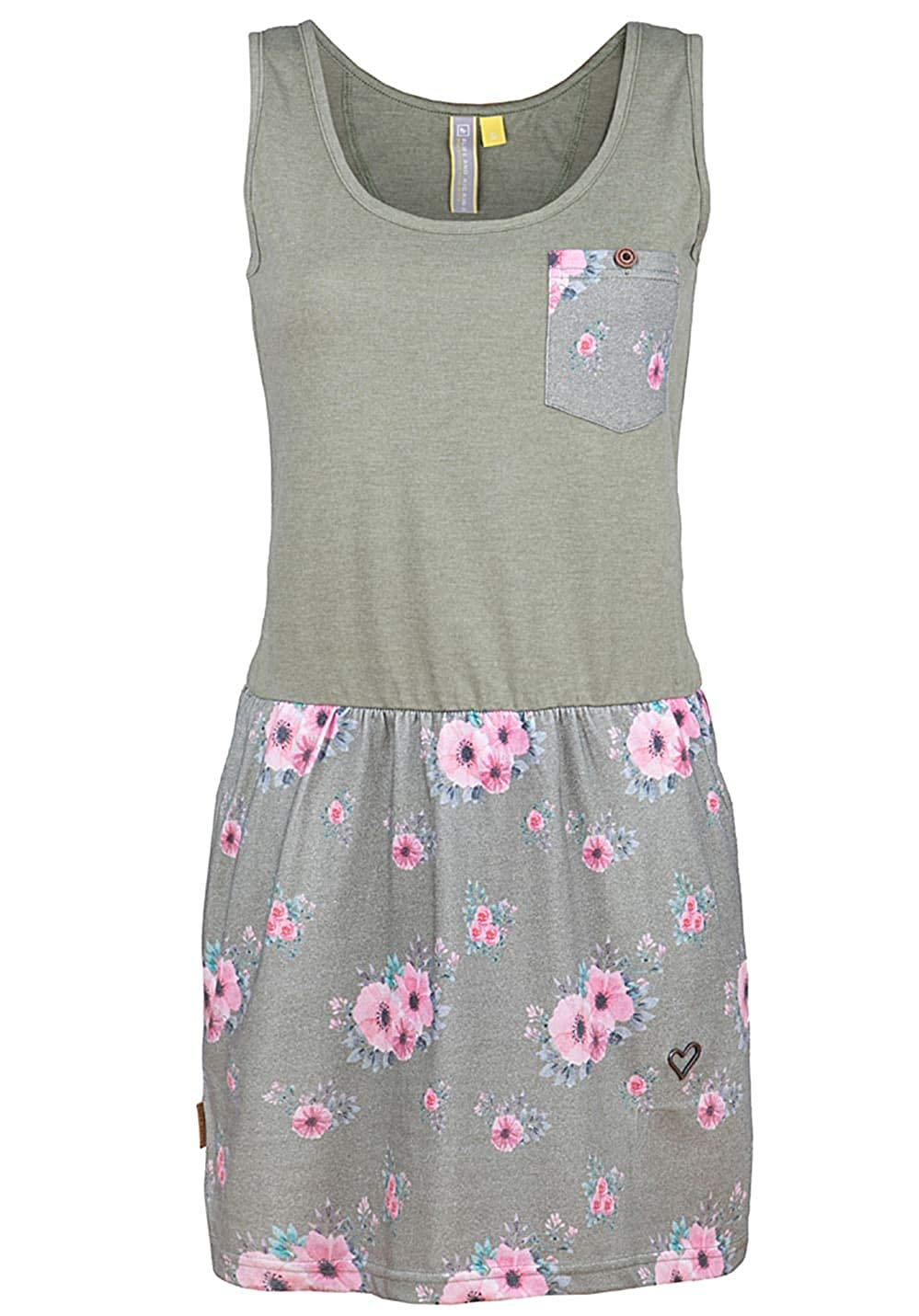 alife and Kickin Rosalie Dress Damen Sommerkleid, Jerseykleid, Strandkleid, Kleid
